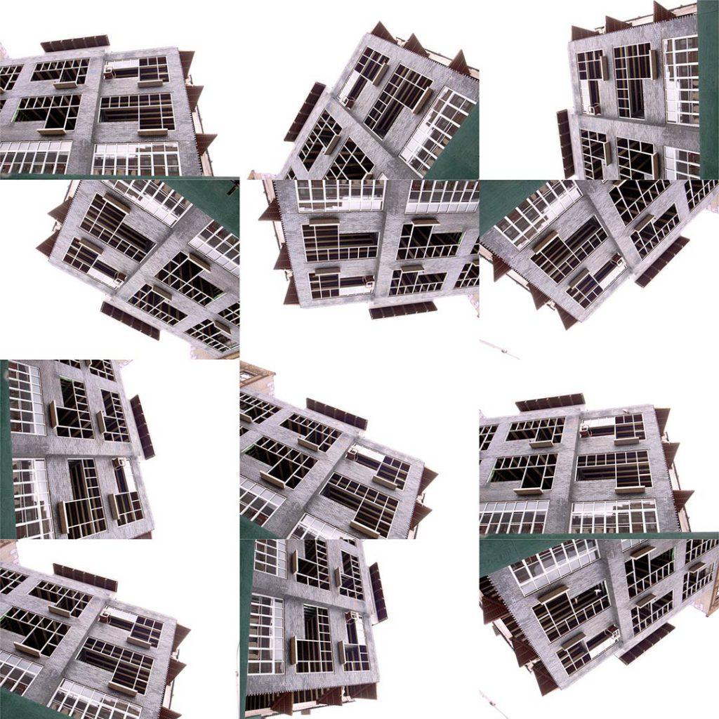 """""""Buildings2010_27"""", 2015 - 122 x 122 cm"""