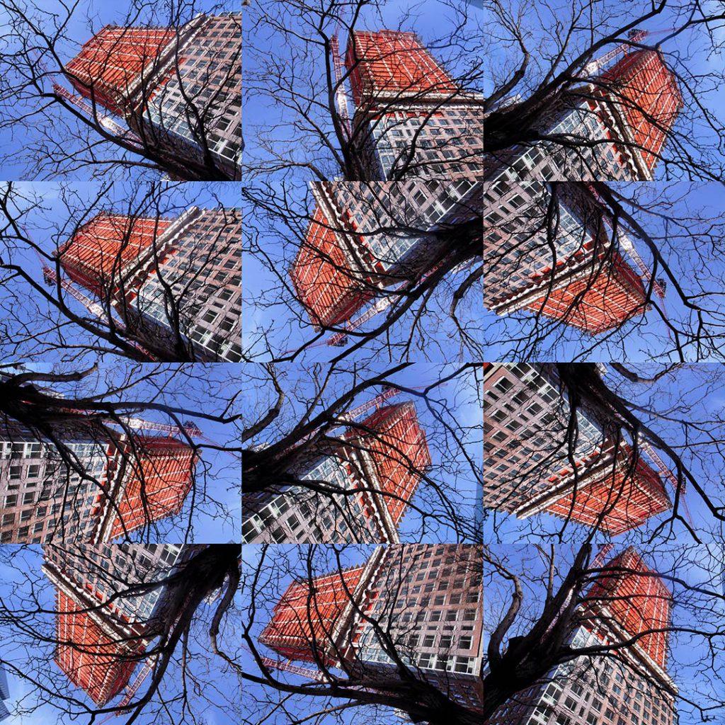 """""""Buildings2010_5"""", 2015 - 125 x 125 cm"""