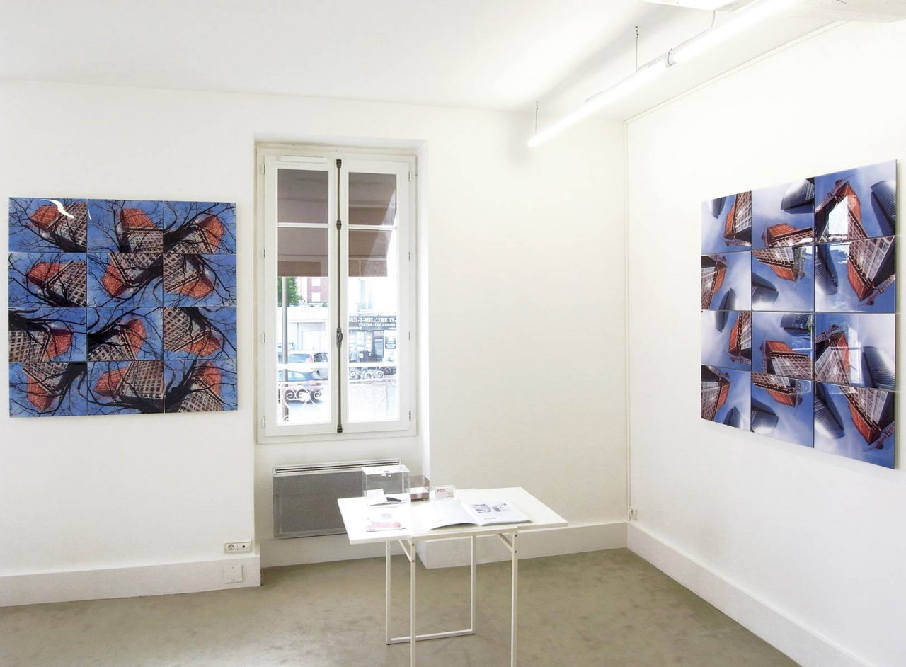 Buildings, exhibition, Exit Art Contemporary gallery, Boulogne-Billancourt, France, 2015