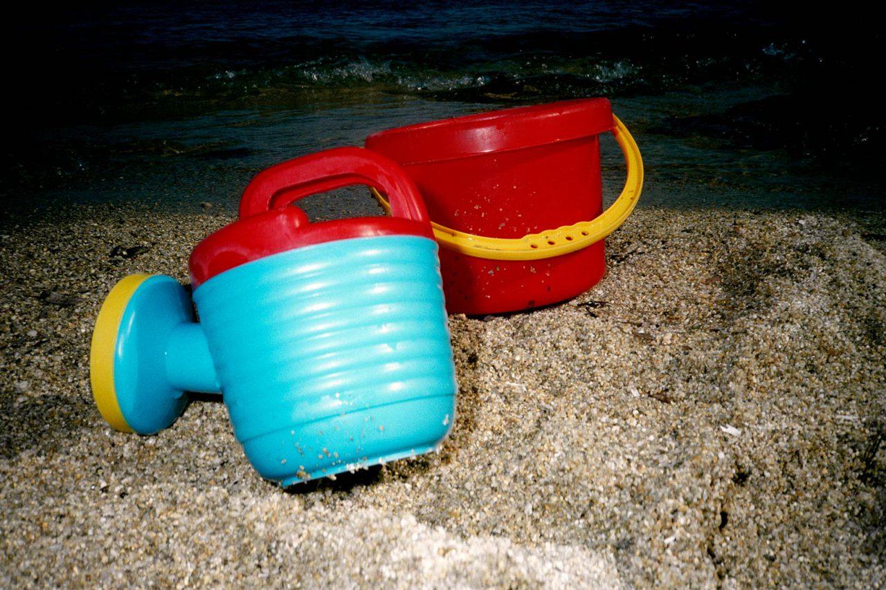 """Beach Toys_04"", Coffret Beach Toys, 30 x 20 cm"