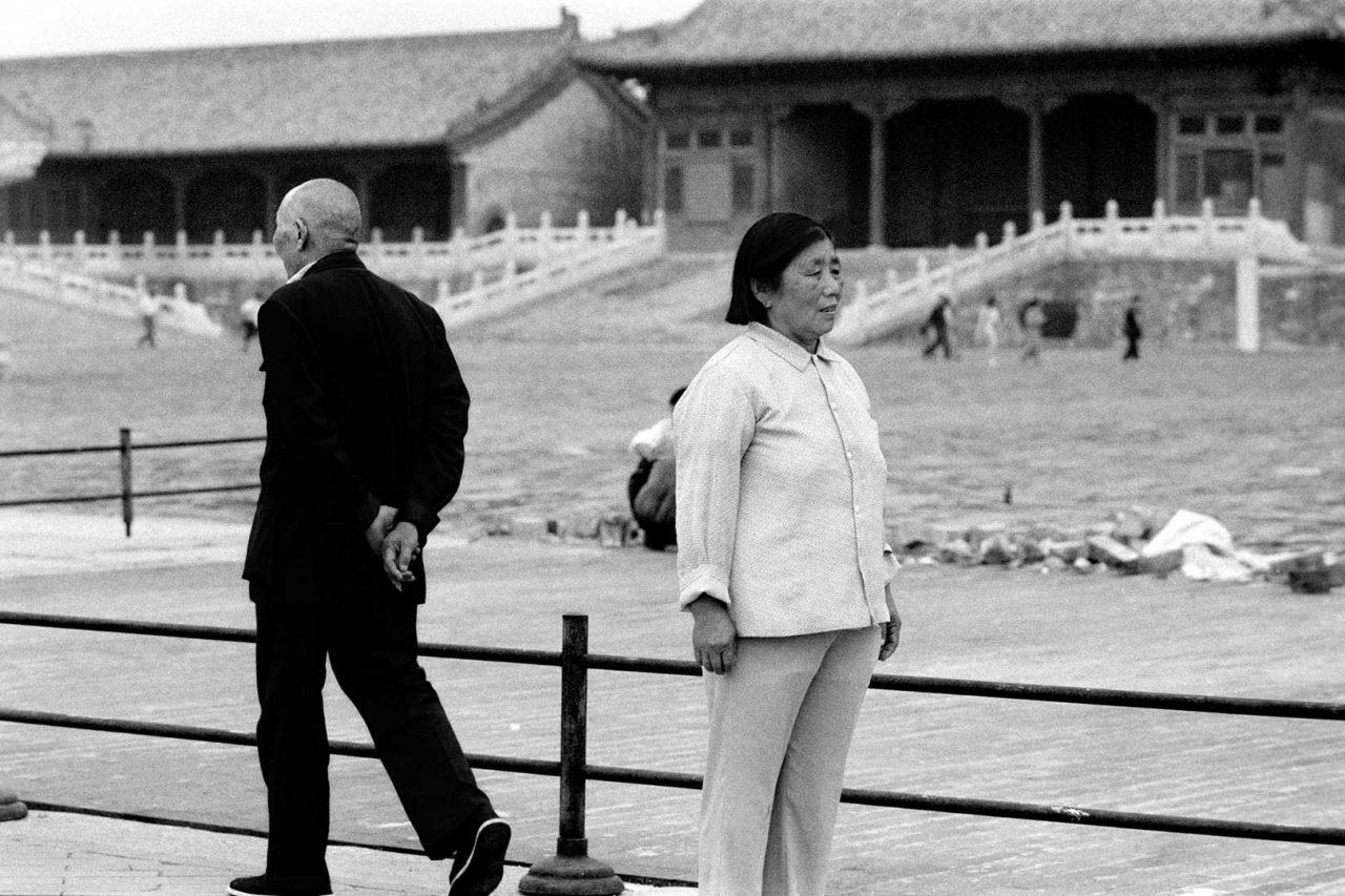 """""""Pas de deux"""", Beijing, 1998 - 123 x 83 cm"""