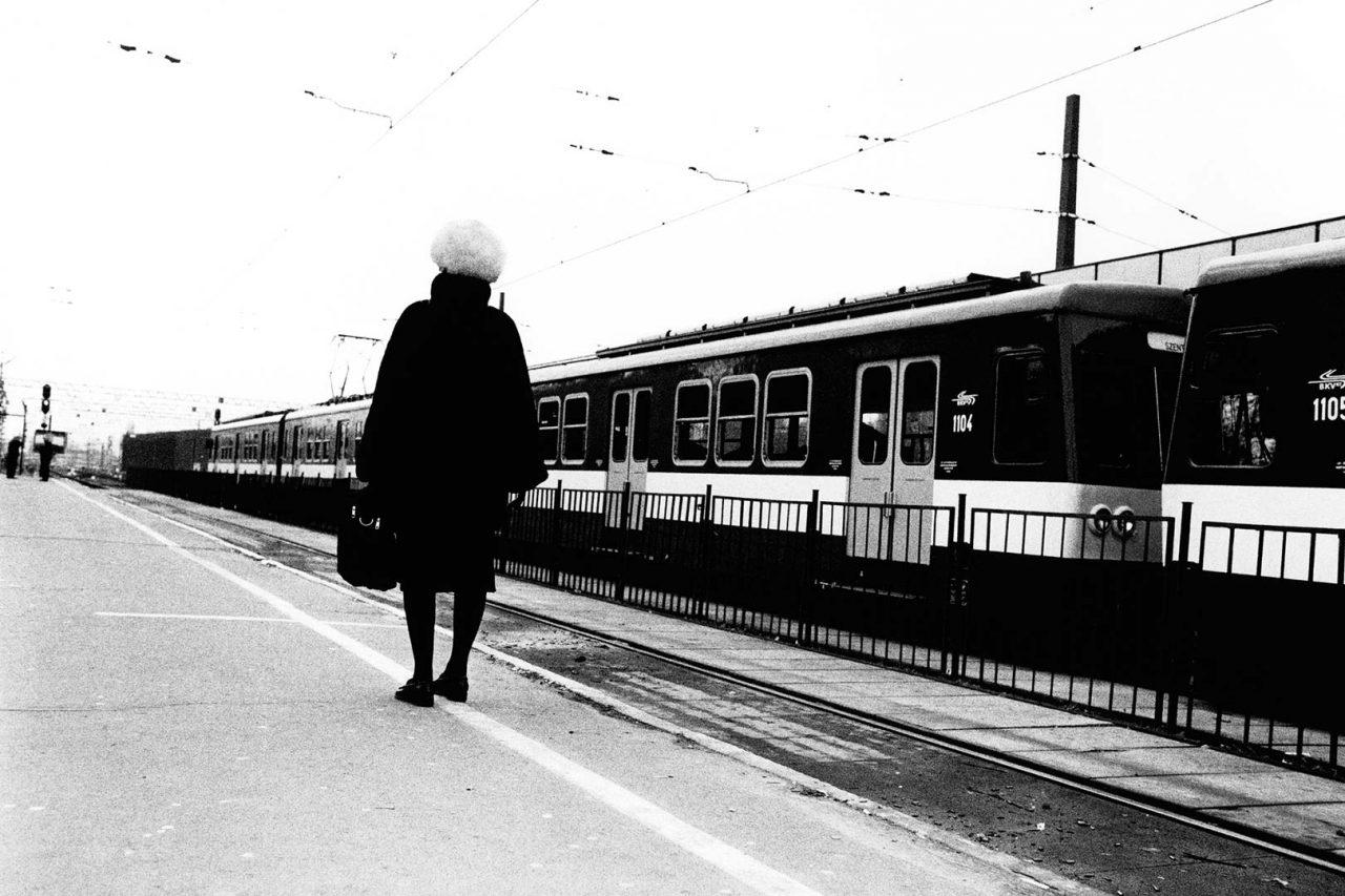 """""""Sur la ligne"""", Budapest, 2005 - 90 x 60 cm"""