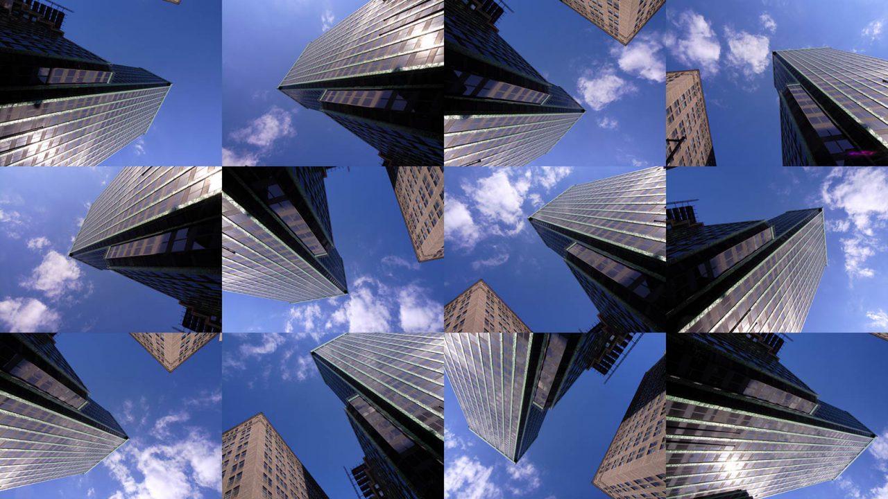 """""""Buildings2009_10"""", 2015 - 165 x 95 cm"""