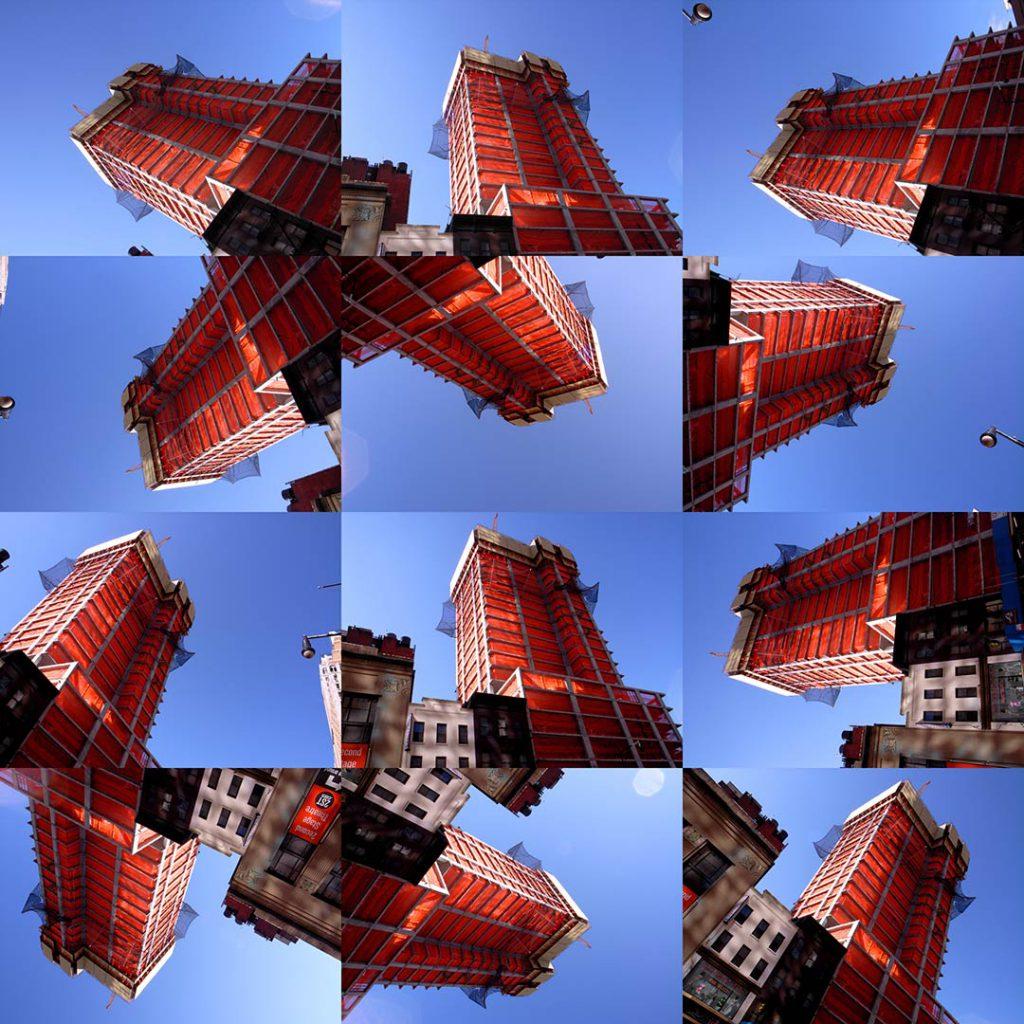 """""""Buildings2009_3"""", 2015 - 125 x 125 cm"""