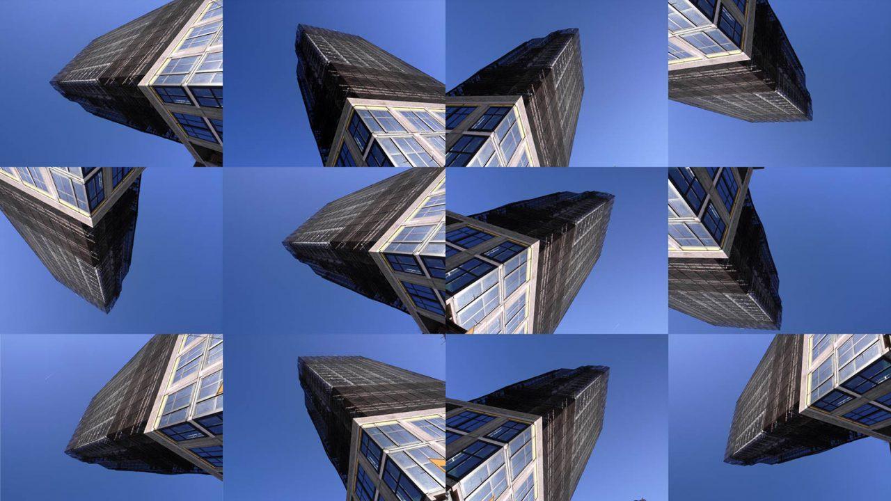 """""""Buildings2009_5"""", 2015 - 165 x 95 cm"""