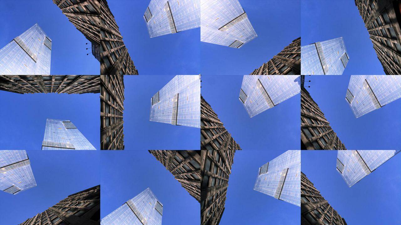 """""""Buildings2009_6"""", 2015 - 165 x 95 cm"""