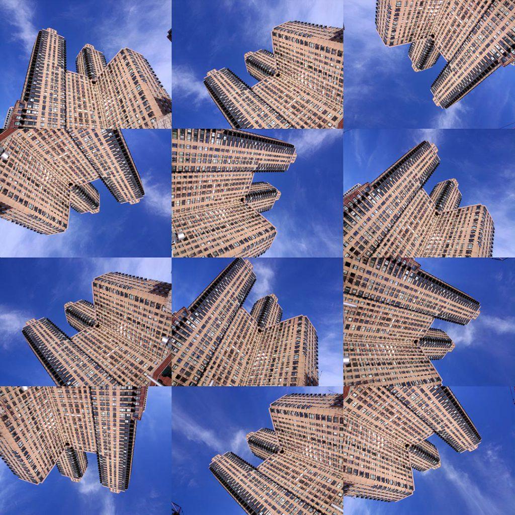 """""""Buildings2009_8"""", 2015 - 125 x 125 cm"""