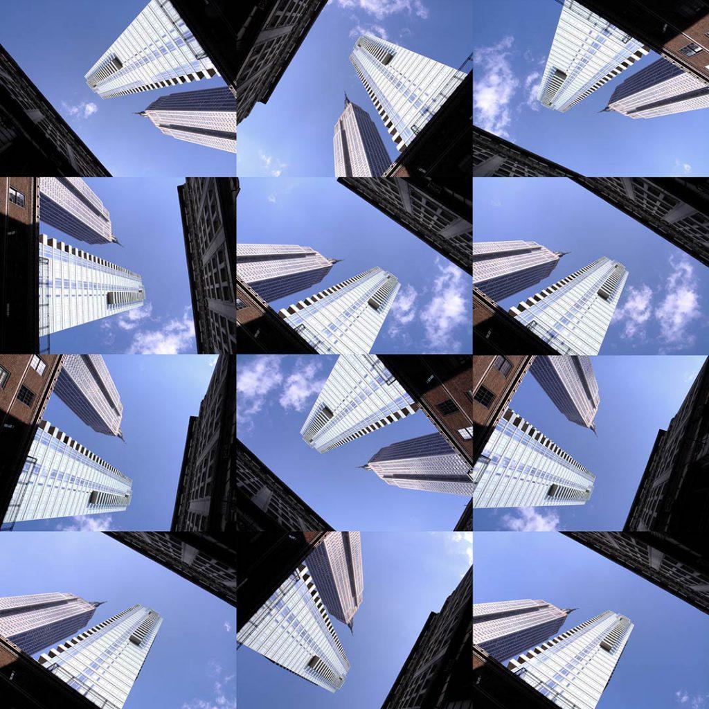 """""""Buildings2009_9"""", 2015 - 125 x 125 cm"""