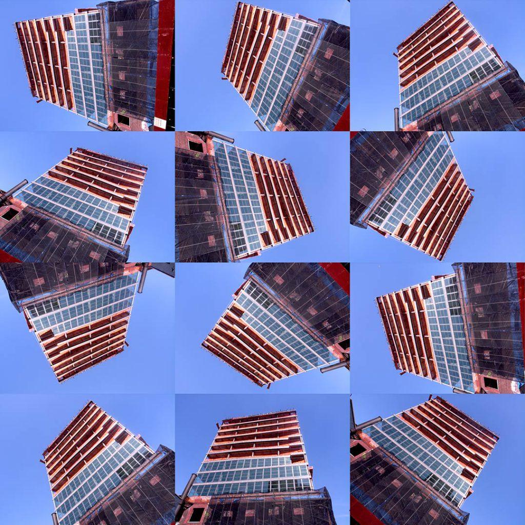"""""""Buildings2010_1"""", 2015 - 125 x 125 cm"""