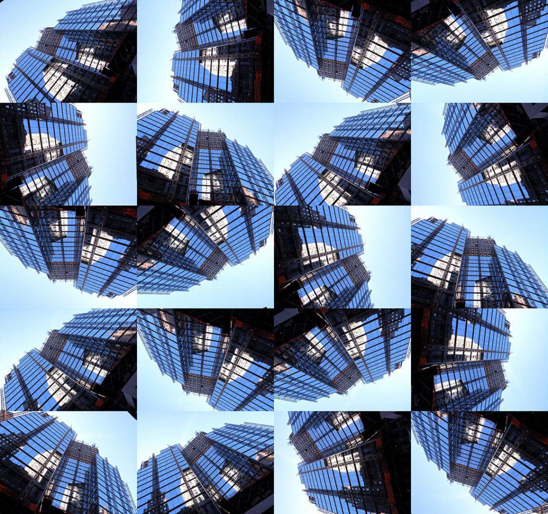 """""""Buildings2010_10"""", 2015 - 165 x 155 cm"""