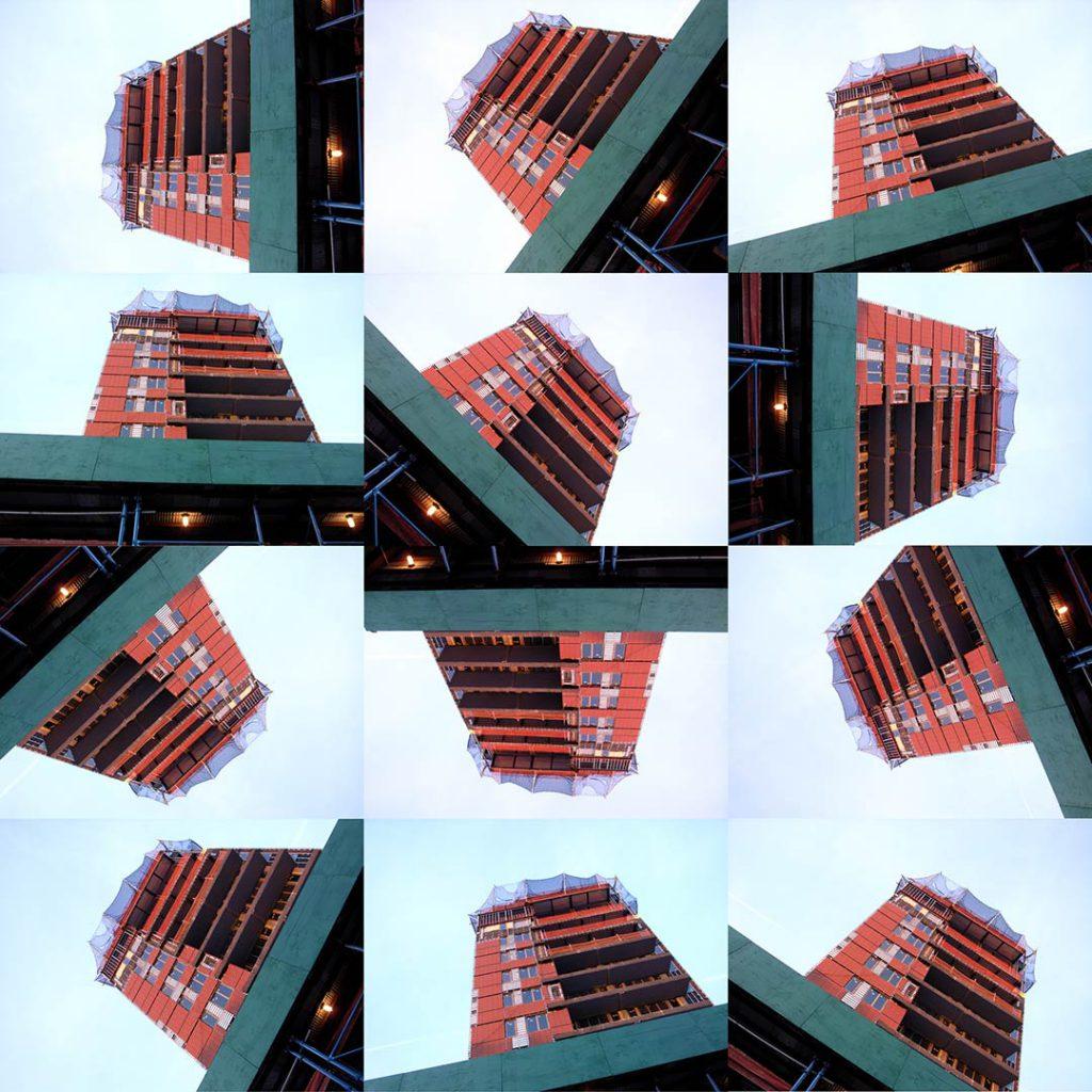 """""""Buildings2010_21"""", 2015 - 125 x 125 cm"""