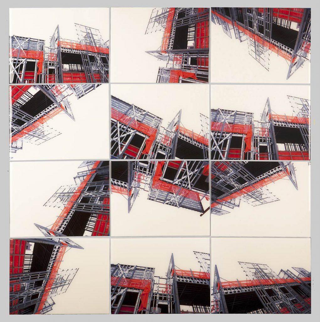 """""""Buildings2010_4"""", 2015 - 125 x 125 cm"""