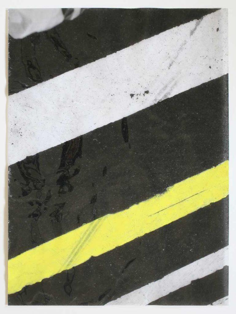 """F12"", Crosswalks, 2016 - 34 x 45,5 cm"