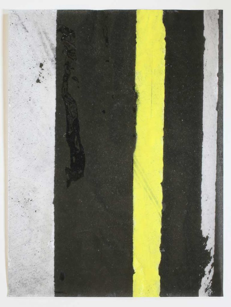 """F13"", Crosswalks, 2016 - 34 x 45,5 cm"