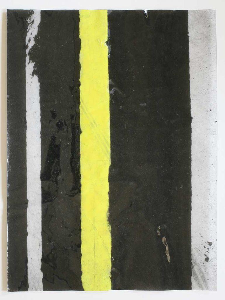"""F15"", Crosswalks, 2016 - 34 x 45,5 cm"
