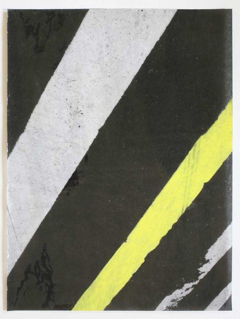 """F16"", Crosswalks, 2016 - 34 x 45,5 cm"