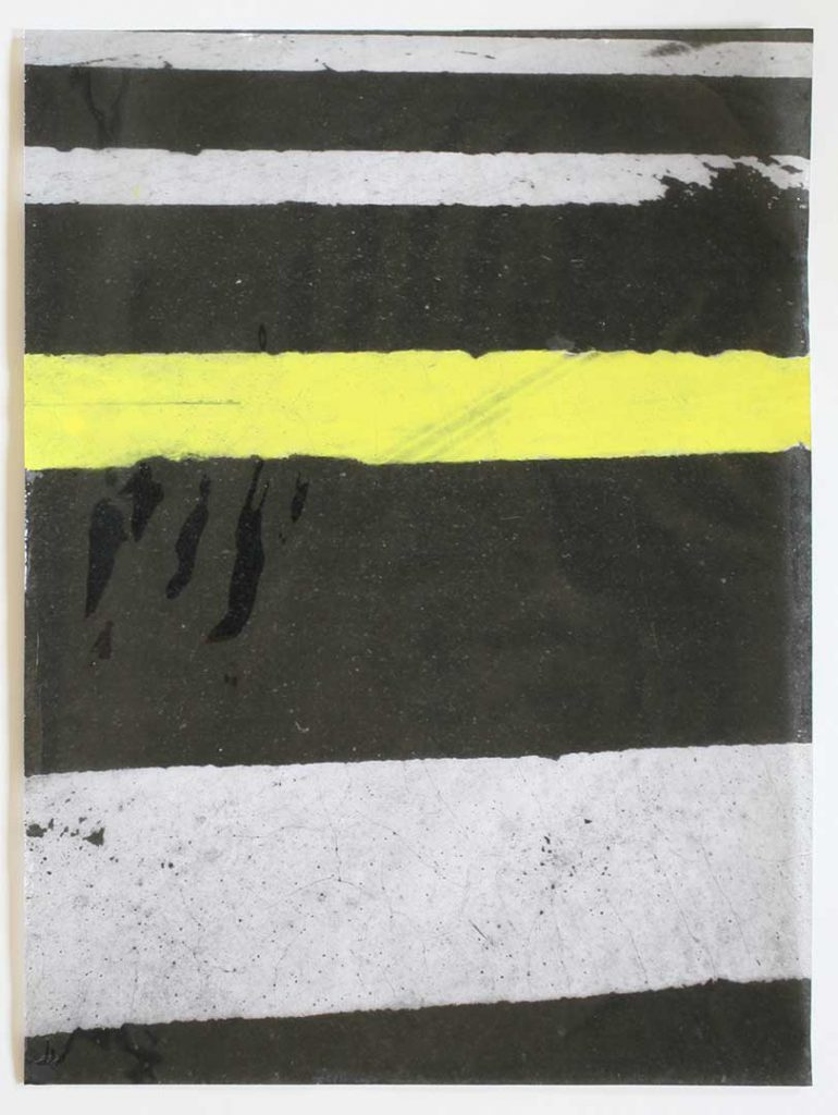"""F17"", Crosswalks, 2016 - 34 x 45,5 cm"