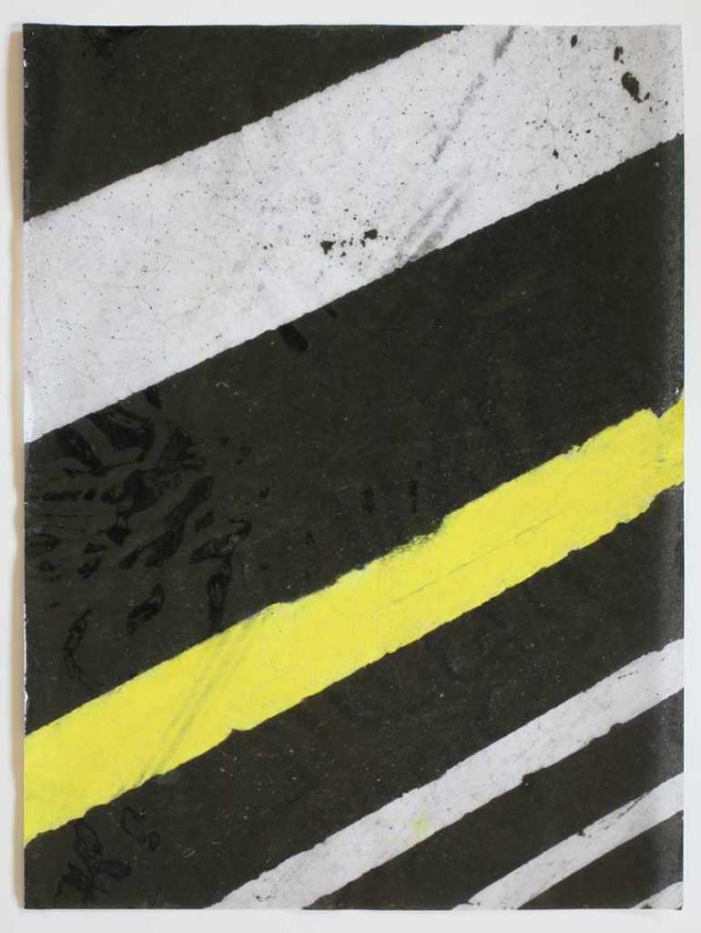 """F2"", Crosswalks, 2016 - 34 x 45,5 cm"