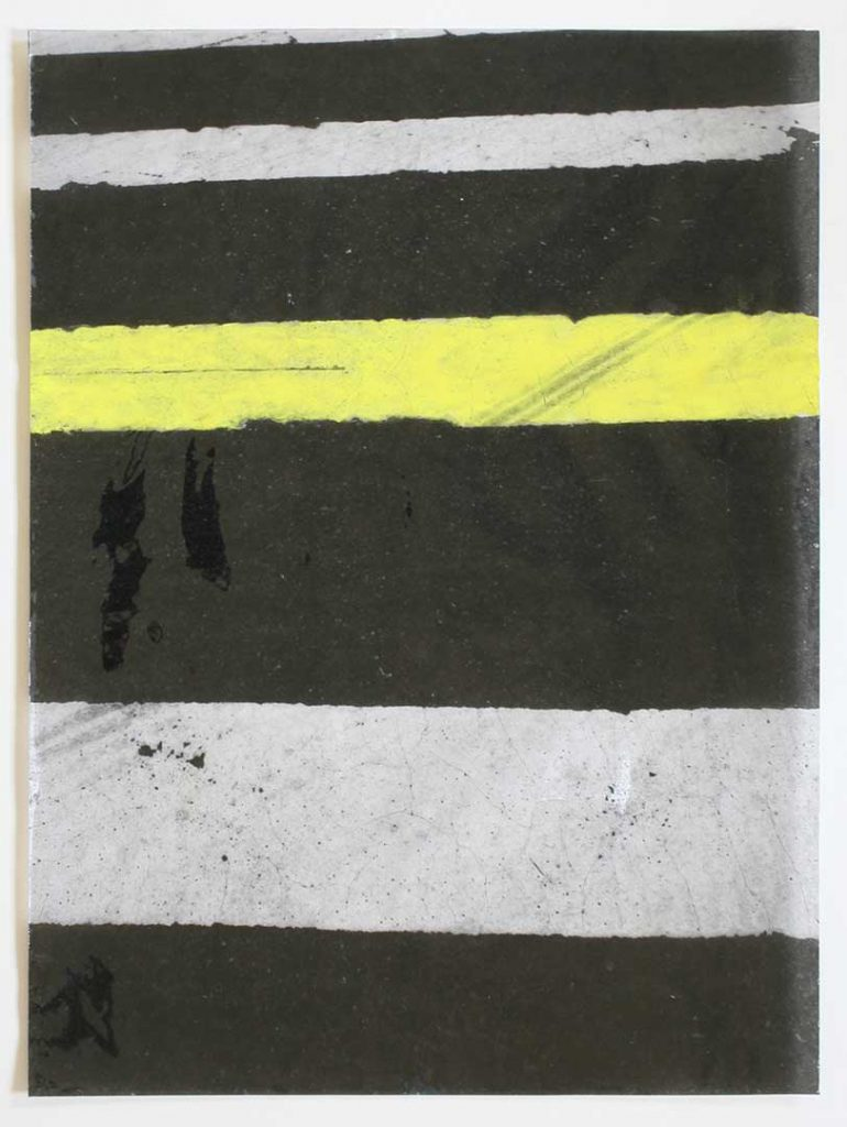 """F20"", Crosswalks, 2016 - 34 x 45,5 cm"
