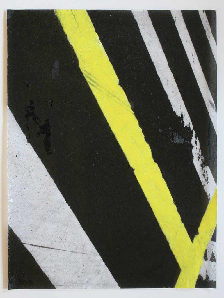 """F3"", Crosswalks, 2016 - 34 x 45,5 cm"