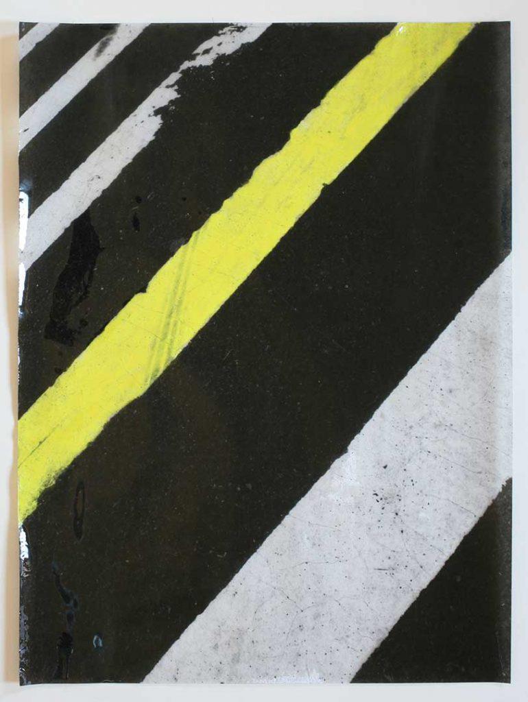 """F4"", Crosswalks, 2016 - 34 x 45,5 cm"