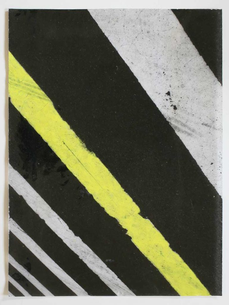 """F5"", Crosswalks, 2016 - 34 x 45,5 cm"