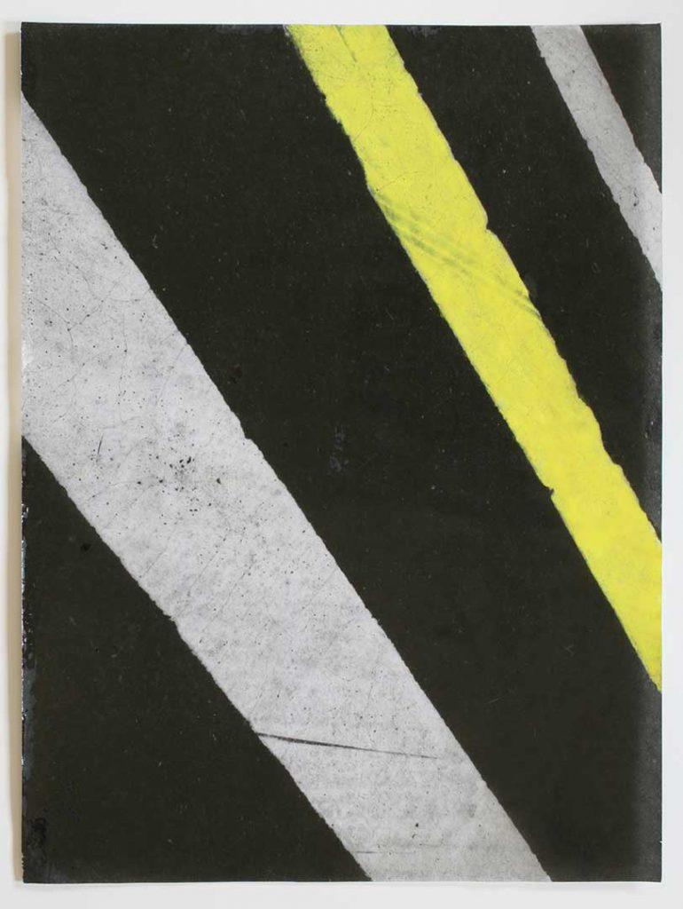 """F6"", Crosswalks, 2016 - 34 x 45,5 cm"