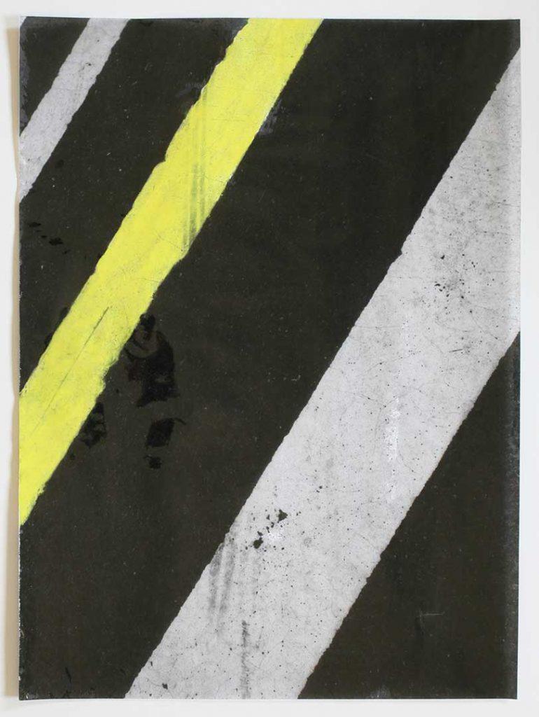 """F7"", Crosswalks, 2016 - 34 x 45,5 cm"
