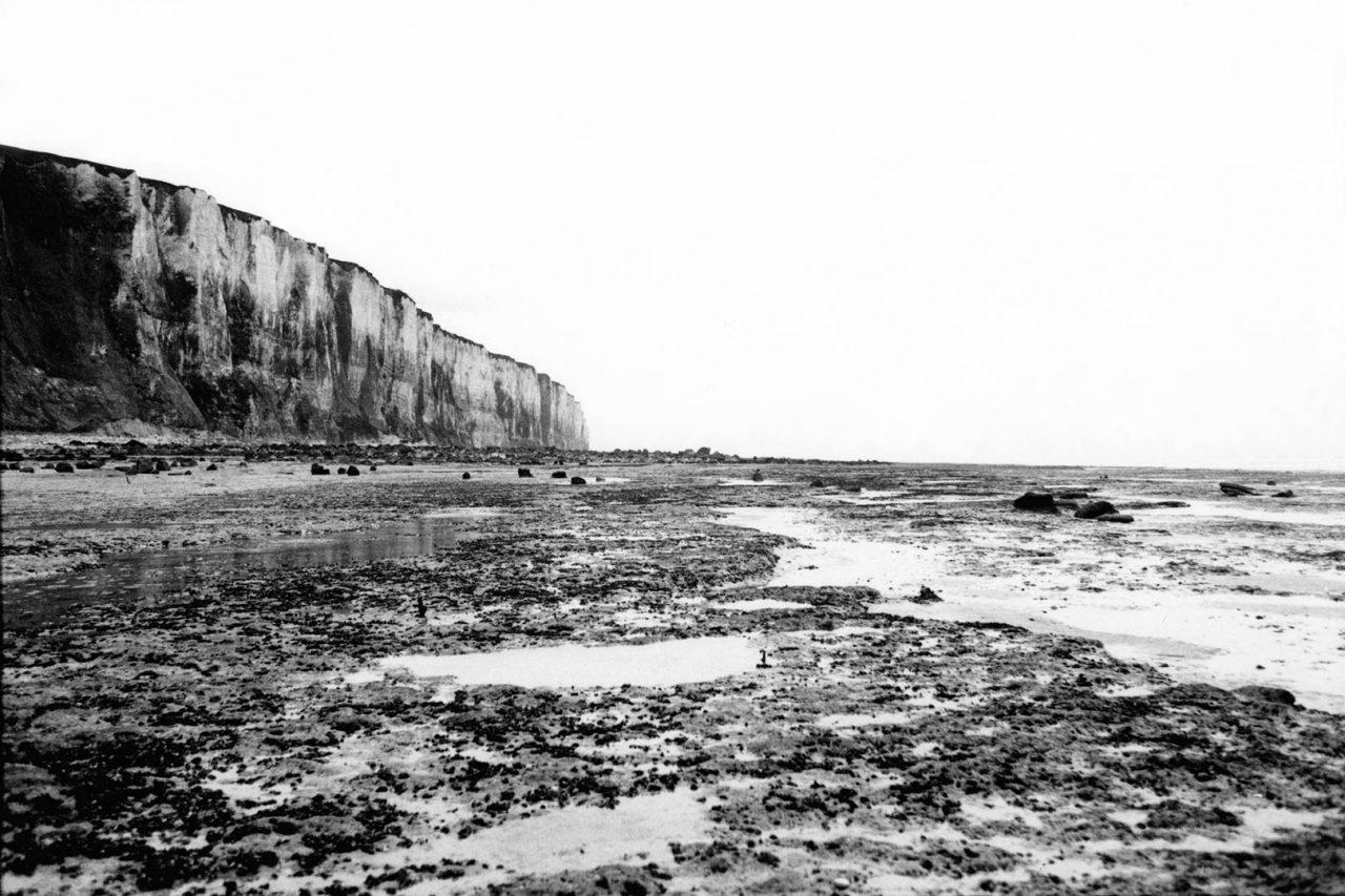 """""""Tréport cliffs"""", Histoires, 2004"""
