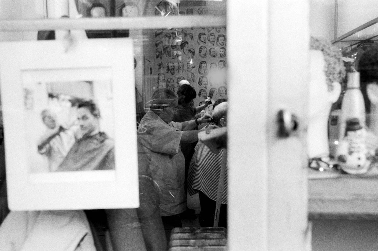 """Barber shop"", NewYork, 2002"