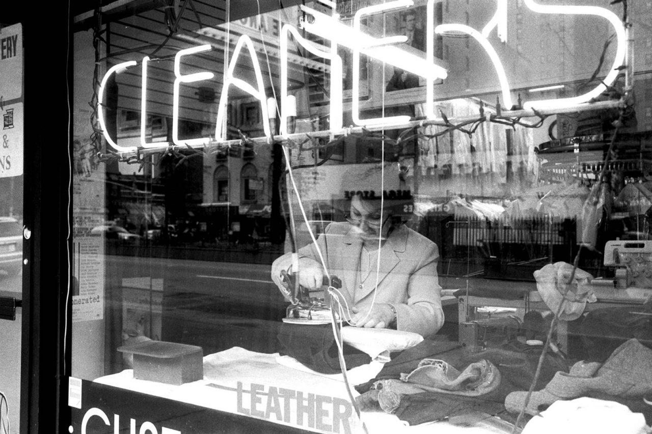 """Cleaners"", NewYork, 2002"