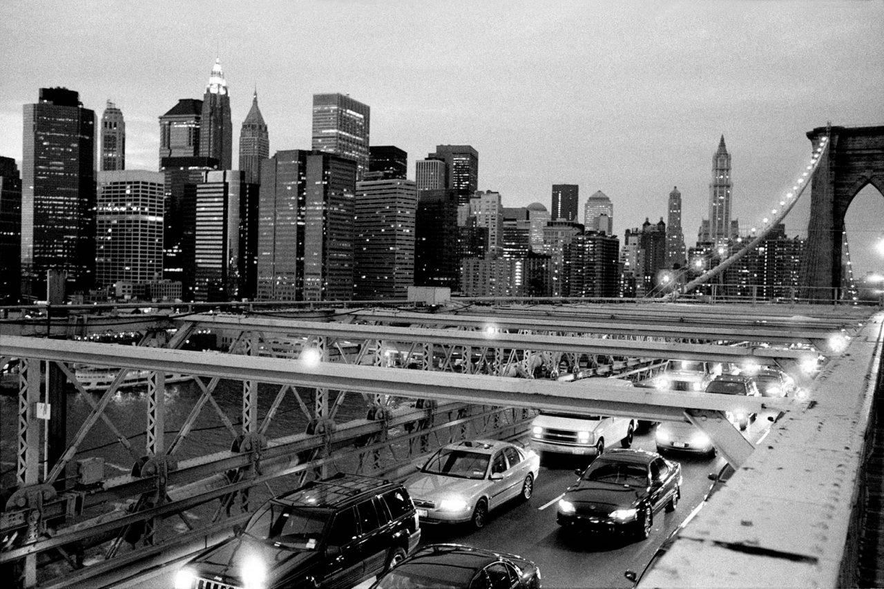 """Commuters"", NewYork, 2002 - 122 x 82 cm"