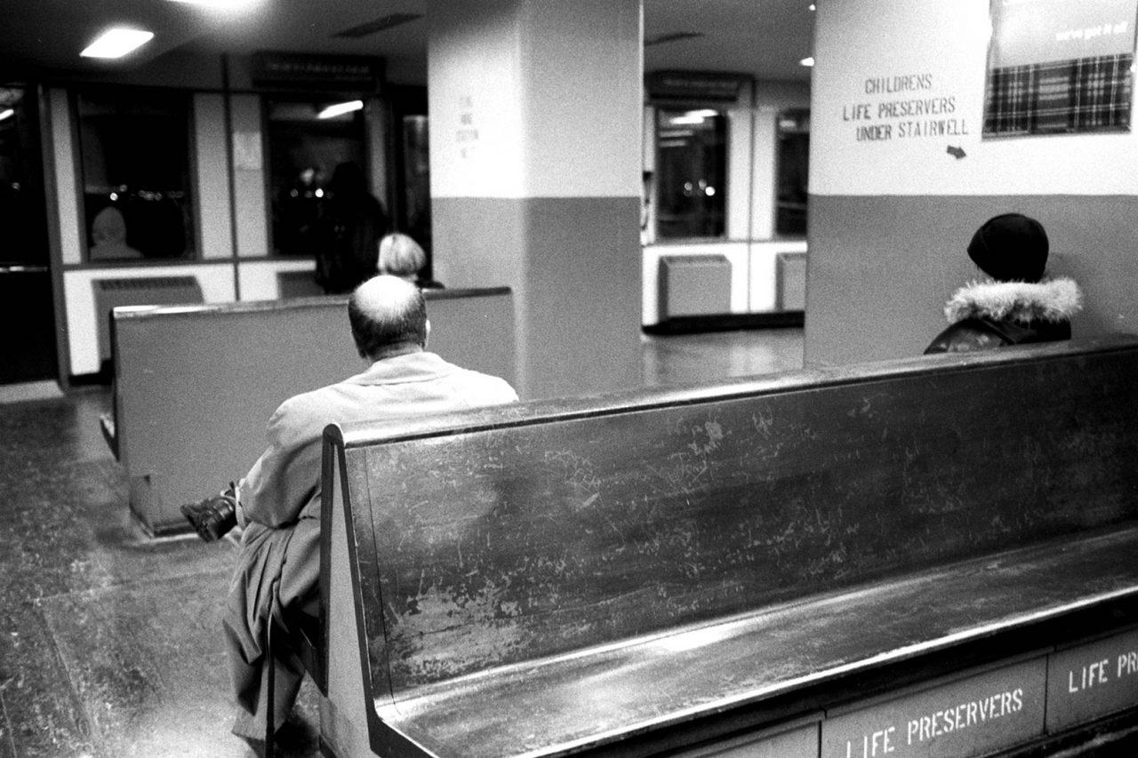 """Ferry heads"", NewYork, 2002"