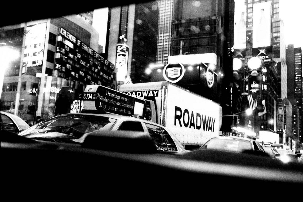 """Rearview"", NewYork, 2002 - 122 x 82 cm"