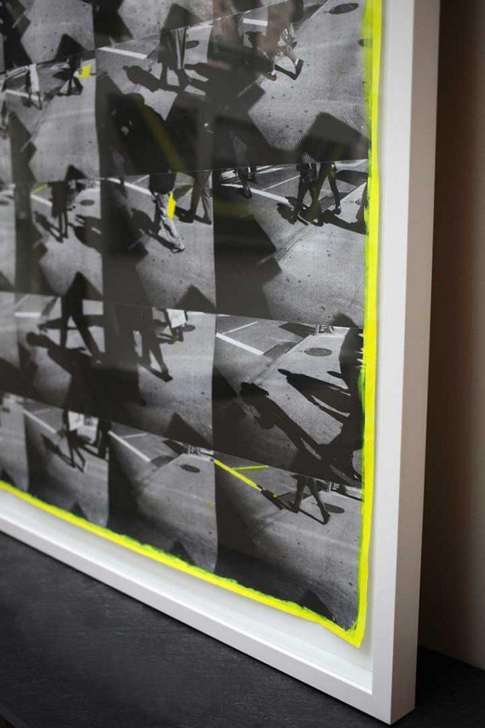 "Close up ""PNYC1"", CROSSWALKS, 2014"