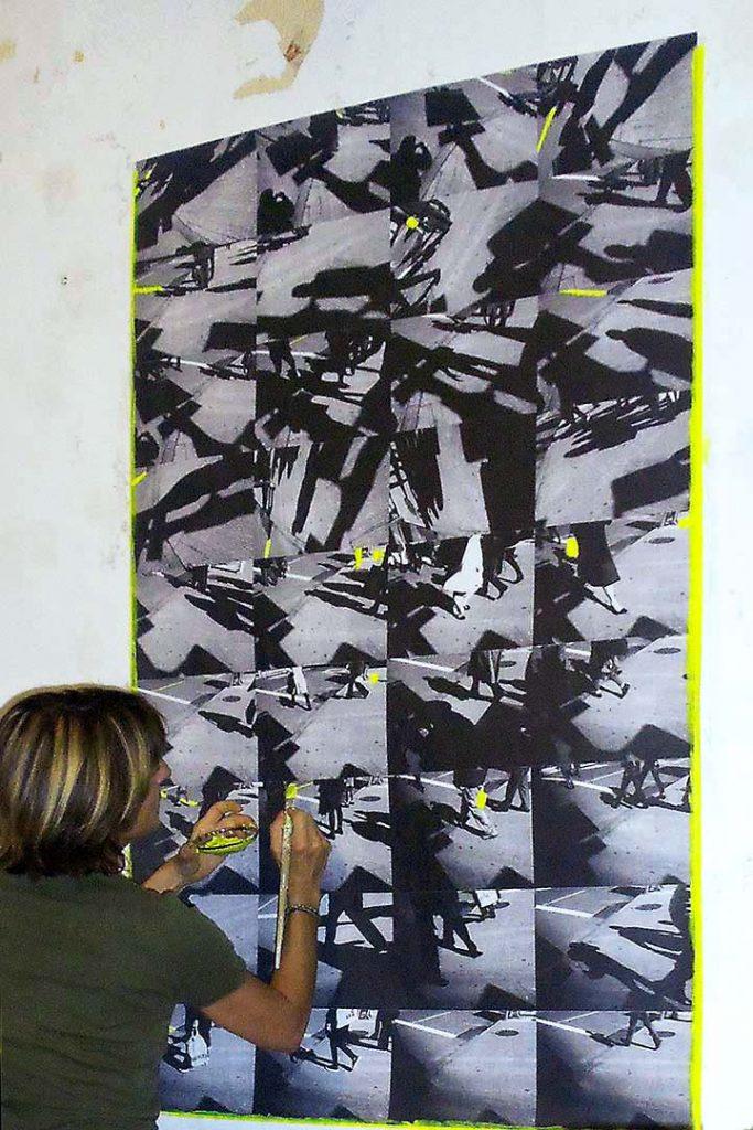 "Studio Sophie Mabille, ""PNYC1"", CROSSWALKS"