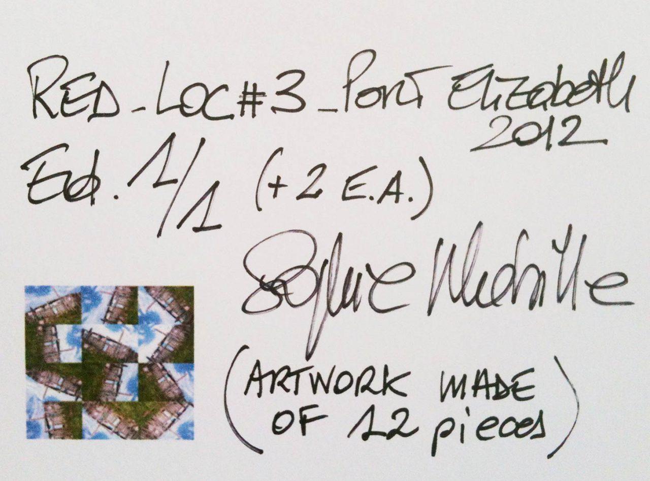 """""""RedLoc_3 Signature"""", SOUTHAFRICA, 2012"""