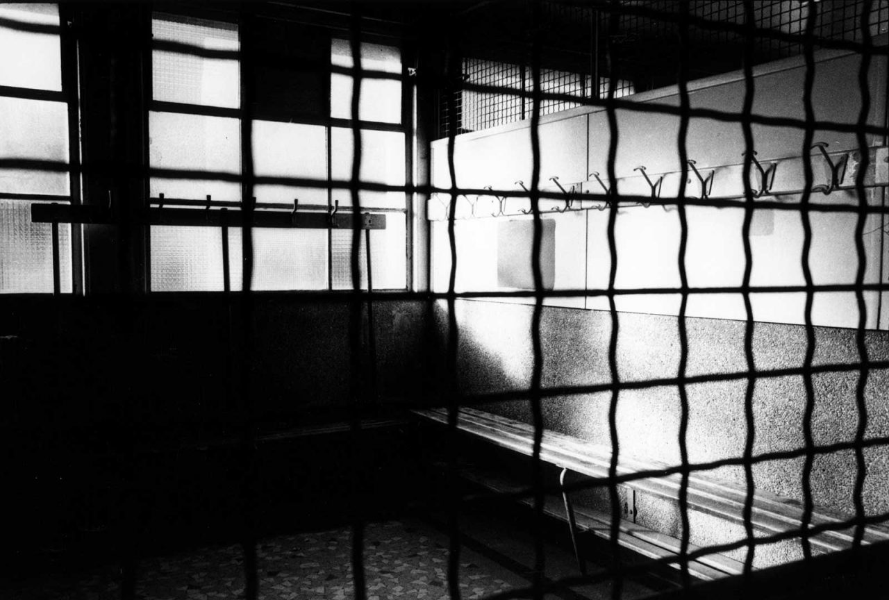 """Vestiaires grilles"", STADE, 2004"